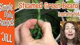 Steamed Green Beans in Instant Pot