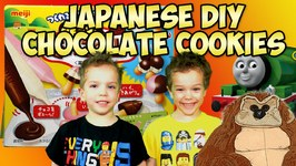 Americans Eating Japanese Chocolate Taste Test Kids Candy Review