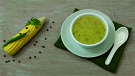 Sweet Corn Soup - With a touch of Spiciness