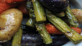 Skinny Roasted Veggies