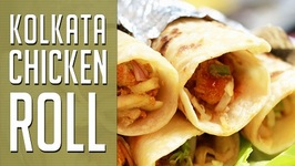 Chicken roll -- Calcutta Street Food Recipe