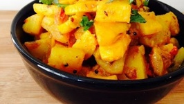 Tasty Zucchini Potato Masala Recipe, Easy Vegetarian Side Dish Idea