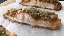 Pistachio Crusted Baked Salmon Recipe Easy Salmon