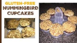 Hummingbird Cupcakes - Gluten-free using Almond Flour