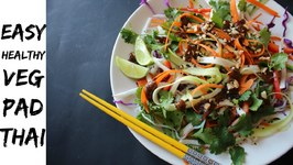 Easy Healthy Vegetable Pad Thai