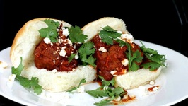 Mexican Meatball Sliders (Albóndigas)