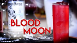Blood Moon Cocktail - Red And Juicy