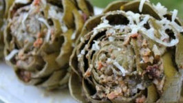 How to Cook Dutch Oven Stuffed Artichokes