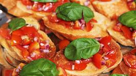 How to impress your guests with Bruschetta