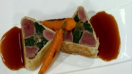 Lamb Tenderloins Wrapped In Phyllo