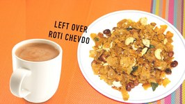 Crunchy Crispy Roti Chevda  Make use of left over Roti