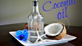 Homemade Coconut Oil - How To Make Virgin Cold Pressed Oil