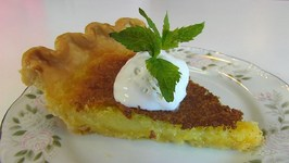 Betty's Southern Cornmeal Pie