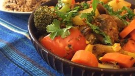 Veg Masala Curry  Indian Dinner Ideas