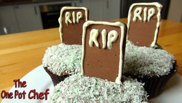Tombstone Cupcakes  One Pot Chef