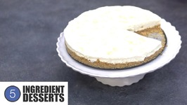 No Bake Lemon Cheesecake - 5 Ingredient Desserts