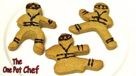 Ninja Gingerbread Men