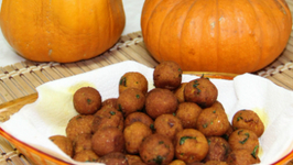 Pumpkin Potato Croquettes - Pumpkin Fritters or Balls