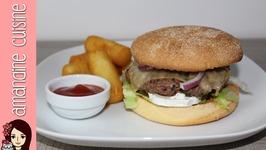 Recette du Burger Poivre Miel avec Jacquet