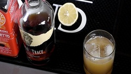 Bourbon Amaretto Sour -Buffalo Trace Bourbon