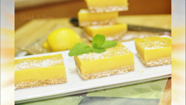 Lemon Bars or Lemon Squares - No Bake - No Egg
