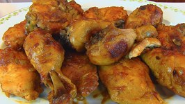 Betty's Oven Barbecued Chicken -- Super Bowl