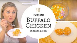 Meal Prep Recipe: Buffalo Chicken Meatloaf Muffins