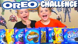 The Oreo Challenge Blindfold Cookie Taste Test