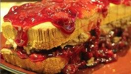 Chocolate Raspberry Pound Cake