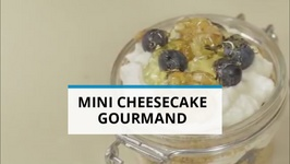 Goûter gourmand : le mini cheesecake