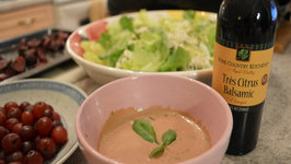 How to Make Napa Valley Creamy Citrus Balsamic Herbed Dressing