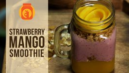 Strawberry Mango Smoothie - Heathy & Delicious Smoothie