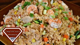 Easy Homemade Shrimp And Chicken Fried Rice / Better Than Take-Out