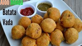 Vada Pav- Batata wada/ Potato Dumpling Mumbai Style