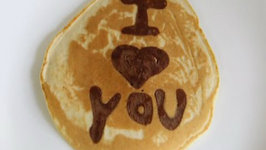 Personalized Pancakes - Valentine