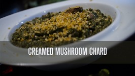 Awesome Creamed Mushrooms Chard - Dairy Free