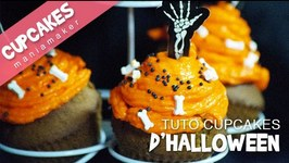 Recette Cupcakes d'Halloween (nutellabanane and confiture de mre)