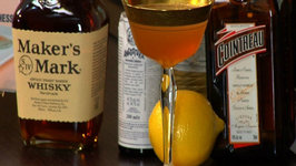 Bourbon Crusta Cocktail