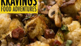 Easy Chicken Liver and Mushroom Stuffing