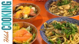 Vegetarian Pasta Dinner - Budget Meal