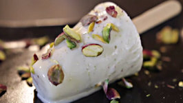 Pistachio Kulfi - Shortcut Recipe