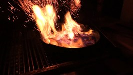 Bananas Foster on the Grill -- A Tasty How To Video
