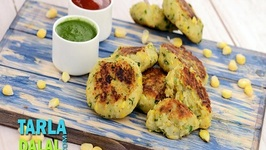 Corn and Potato Tikkis