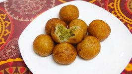 Farali Petis Kachori for Upvas Vrat / Fasting Recipe / Stuffed Potato Balls