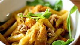 Pumpkin Penne Pasta- Vegetarian
