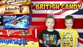 Americans Eating British Chocolate Taste Test Kids Candy Review Pt 2
