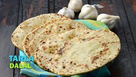 Butter Garlic Naan, Tava Garlic Butter Naan