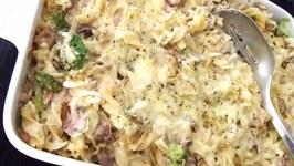 Creamy Tuna And Mushroom Pasta