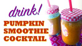 Pumpkin Spice Smoothie Cocktail/Mocktail Recipe