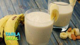 Almond and Banana Smoothie